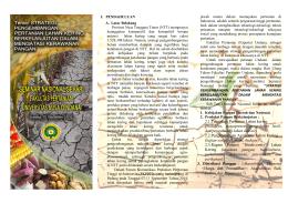 Leaflet Semnas Pertanian 2016