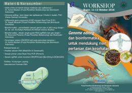leaflet - Pusat Penelitian Bioteknologi dan Bioindustri