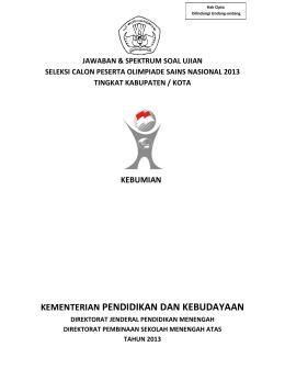 jawaban-osk-kebumian-2013