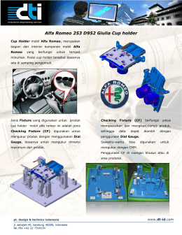 Alfa Romeo 253 D952 Giulia Cup holder .