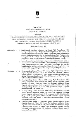 Undang-undang Nomor 42 Tahun 2009 (l