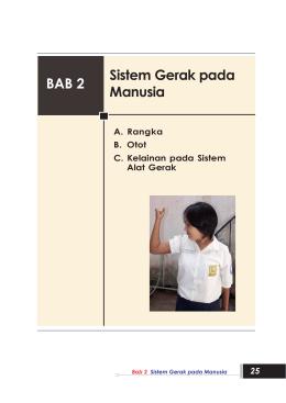 bse 5 bab 2 sistem gerak pada manusia