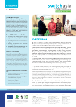 Timber Indonesia Newsletter Vol.6