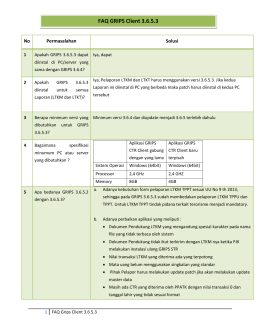 FAQ GRIPS Client 3.6.5.3