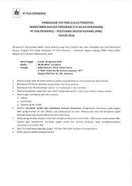 tautan berikut - Politeknik Negeri Kupang