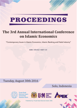 The 3rd Annual International Conference on Islamic Economics