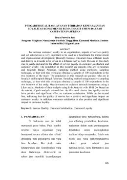 Jurnal kepemimpinan islam pdf