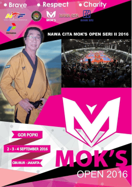 Proposal - Mok`s Open