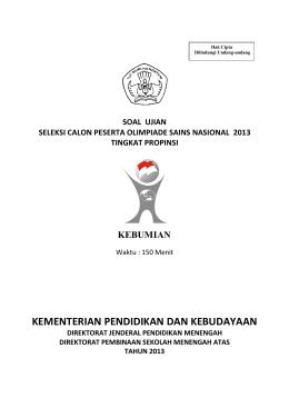 soal-osp-kebumian-2013