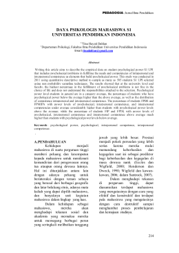 Laporan Chapter 2 - Electronic Journal of Indonesia University of