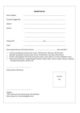 donatur-cb - Pendidikan Karakter