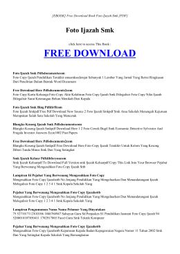 [ebook] foto ijazah smk pdf