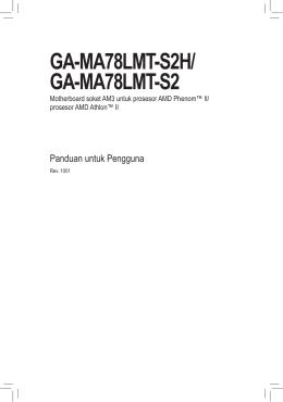 GA-MA78LMT-S2H/ GA-MA78LMT-S2