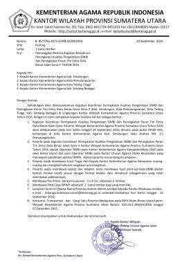 kementerian agama republik indonesia kantor