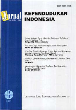 Jurnal Kependudukan Indonesia
