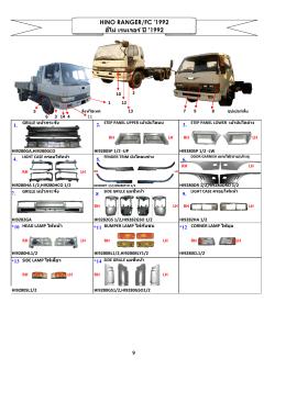 hino ranger/fc 1992 - tt(iki)autopart co.,ltd.