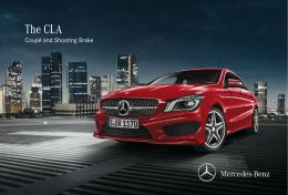 ดาวน์โหลดโบรชัวร์ของ CLA-Class  - Mercedes