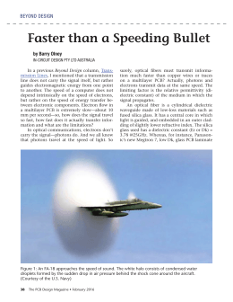 Beyond Design: Faster Than a Speeding Bullet - In
