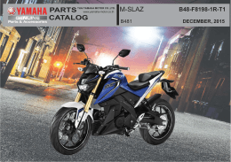 parts catalog m-slaz - thai yamaha motor co.,ltd.
