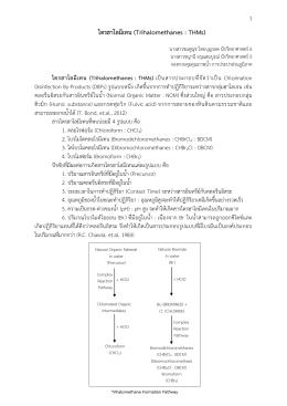 ไตรฮาโลมีเทน (Trihalomethanes : THMs)