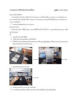 การทดลองต่างๆที่เกี่ยวข้องกับด้านธรณีวิทยา