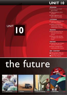 UNIT 10 - Pearson ELT