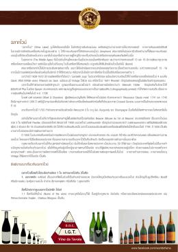ฉลากไวน์ - World Of Wines Selection