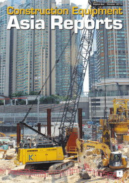 September - October 2013 - Construction Equipment Asia Reports