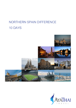 northern spain difference 10 days