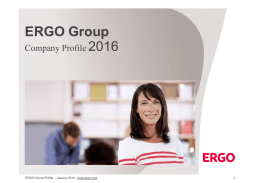 ERGO Group Profile