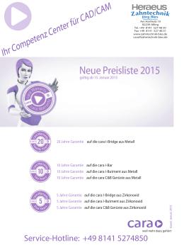 pdf Preisliste gültig ab 15.01.2015