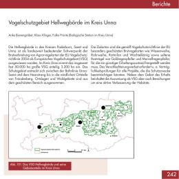 Vogelschutzgebiet Hellwegbörde im Kreis Unna