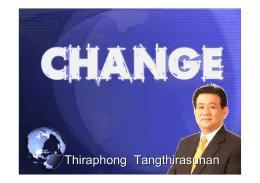 Thiraphong Tangthirasunan