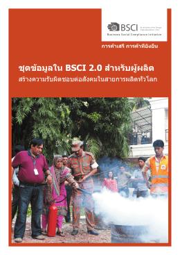 การตรวจสอบ BSCI 2.0