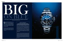 WOW Singapore และ WOW Thailand จับกระแสนาฬิกาสีน  ้าเงินที่น  า