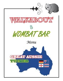 2 - Wombat Bar