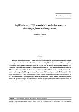 Full text - คณะสัตวแพทยศาสตร์ จุฬาฯ