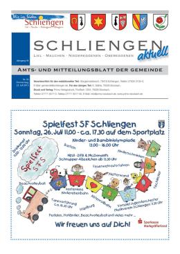 Mitteilungsblatt KW 30