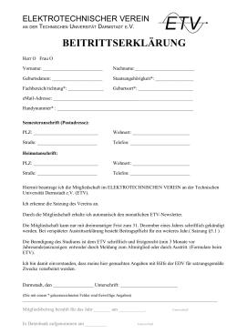 Beitrittserklaerung ETV