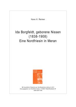 Ida Borgfeldt, geborene Nissen