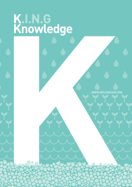 knowledge - We Love King