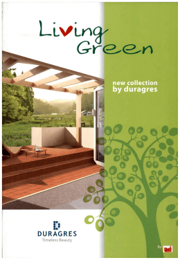 Duragress 014 Living Green New Collection by Duragress