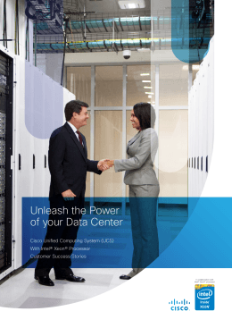 Unleash the Power of your Data Center
