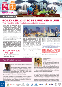 `boilex asia 2012` to be launched in june
