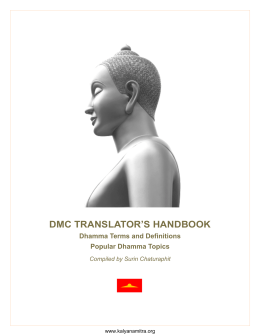 dmc translator`s handbook