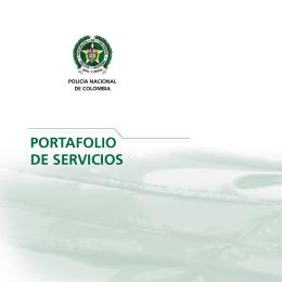 portafolio de servicios - Policía Nacional de Colombia