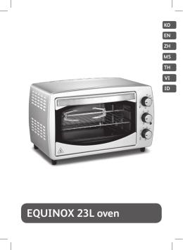 EQUINOX 23L oven