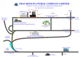 Visio-MAP KORAT.vsd - Thai Mitsuwa Public Co.,Ltd.