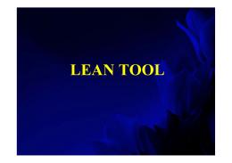 Lean Tools