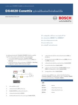 DX4020 Conettix อุปกรณ์เชื่อมต่อเครือข่ายอีเทอร์เน็ต
